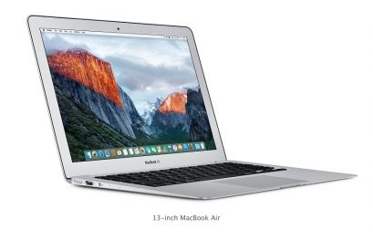 [#17]  Déballage et test du MacBook Air core I5 128 GO, 8GO ram Mi 2014