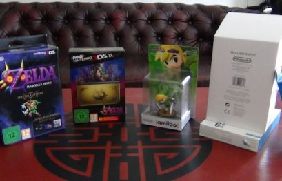 "[#19] Unboxing Nintendo New 3DS ""Zelda Majora's Mask"", l'édition collector du jeu et la figurine Skull Kid !"