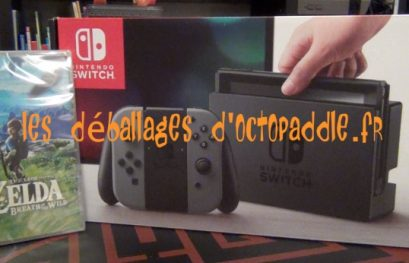 [#28] Déballage de la Nintendo Switch clipo